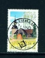 ALAND  -  2001 Foglo Church 2m Used As Scan - Aland