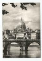 """Roma - """"La Cupola Di  S.Pietro E Dal Lungo Tevere"""". - San Pietro"""