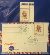 Viet Nam Vietnam MNH Perf Stamp 2019 : 150th Birth Anniversary Of Mahatma Gandhi (Ms1115) - Sent By FDC - Vietnam