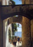 Positano - Rampa Della Teglia - Formato Grande Viaggiata – E 14 - Castellammare Di Stabia