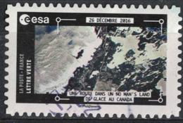 France 2018 Oblitéré Rond Thomas Pesquet Une Route Dans Un No Man's Land De Glace Du Canada Y&T 1578 SU - Gebruikt