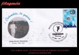 AMERICA. COLOMBIA SPD-FDC. 2019 50 AÑOS PRODUCTORA DE TELEVISIÓN JORGE BARÓN TELEVISIÓN - Colombia