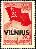 """5 Kop. Bis 1 Rbl., Vilnius, 9 Werte Kpl. Postfrisch, Sign. JL, Fotoattest Krischke: """"echt Und Einwandfrei"""", Mi. 3.000,-, - Deutschland"""