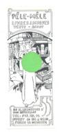 """Marque-pages - """" Pêle - Mêle """" Livres, Disques,... BRUXELLES (b260/5) - Marque-Pages"""