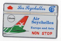 SEYCHELLES Ref MV Cards : SEY-12 120 U CN 105H  Année 1991 4000ex - Seychelles
