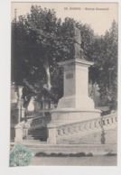 Digne Statue Gassendi - Digne