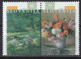 Bö_ Slowenien - Mi.Nr. 142 - 143 - Postfrisch MNH - Europa CEPT - Europa-CEPT
