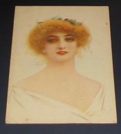 Fantaisie - Portrait De Femme  ::: Illustrateurs Signer Droy ? ------ 513 - Illustrators & Photographers