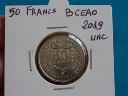 50 FRANCS  B.C.E.A.O  2019 Neuve Unc ( Livrée Sous étui H B - 4 Photos ) - Costa D'Avorio