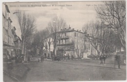 Digne Entrée Du Boulevard Gassendi Et Boulevard Thiers - Digne