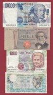 Italie 4 Billets Dans L 'état (26) - Italia