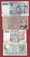 Italie 4 Billets Dans L 'état (27) - Italia