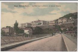 Digne Le Pont Sur La Bléone Et Nouvel Hopital - Digne