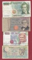 Italie 4 Billets Dans L 'état (29) - Italia