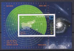 Bö_ Slowenien - Mi.Nr. 590 Block 27 - Postfrisch MNH - Europa-CEPT