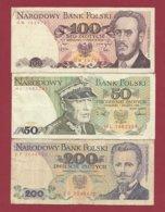 Plogne 3 Billets Dans L 'état (30) - Polonia