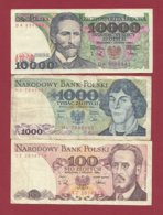 Plogne 3 Billets Dans L 'état (31) - Polonia