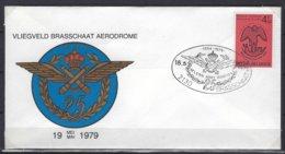 België O.B.C    FDC  1925    Vliegveld Brasschaat - 1971-80