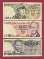 Plogne 3 Billets Dans L 'état (32) - Polonia