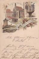 2515100Gruss Aus Nürnberg, (Poststempel 1895)( Sehe Ecken Und Kanten) - Nuernberg