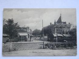 CPA (33) Gironde - PESSAC - Le Passage à Niveau - Pessac