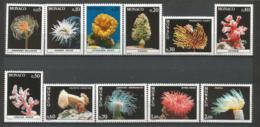 MONACO ANNEE 1980 N°1253 A 1263 NEUFS** NMH - Unused Stamps