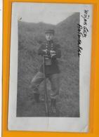 FOTOKAART: SOLDAAT-MILITARIA-FORT-WIJNEGEM--ANTWERPEN-1913-NEUVILLE-EN CONDROZ-UNIFORMEN - Uniformes