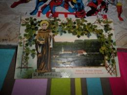 Carte Postale Alsace Haut Rhin  Altkirch Souvenir Du Pelerinage St Morand - Altkirch