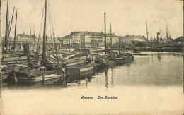 CPA - Belgique - Antwerpen - Anvers - Les Bassins - Antwerpen