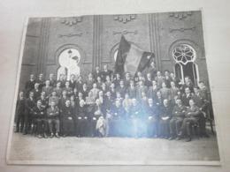 Grande Ancienne Photo D'un Rassemblement à JOLIMONT - Anonieme Personen