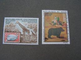 Niger Tiere Animals ..** MNH Mit 436 Nashorn - Niger