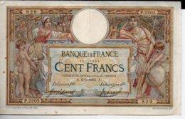 100 FRANCS  2 - 5 - 1914 - 100 F 1908-1939 ''Luc Olivier Merson''