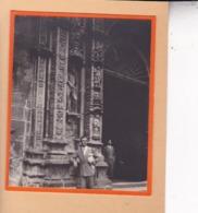 SANTIAGO De COMPOSTELLA   ESPAGNE 1929  Hospital Real Photo Amateur Format Environ 7,5 X 5,5 Cm - Plaatsen