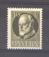 GRX 476  - Allemagne  -  Bavière  :  Mi  100 I  *   Premiers Tirages - Bavière