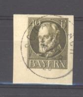 GRX 477  - Allemagne  -  Bavière  :  Mi  100 IIB  (o)  Non Dentelé - Bavière