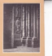 SANTIAGO De COMPOSTELLA   ESPAGNE 1929 Photo Amateur Format Environ 7,5 X 5,5 Cm - Orte