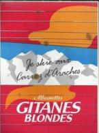 """Autocollant -  Allumettes Gitanes Blondes """"Je Skie Aux Carroz D'Araches"""" - Autocollants"""