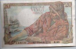 20 FRANCS  7 - 10 - 1943 - 1871-1952 Antichi Franchi Circolanti Nel XX Secolo