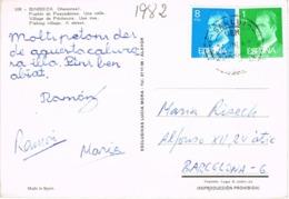 34560. Postal SAN LUIS (Menorca) Baleares 1982. Fechador C.E.M. Correo Especial Mortorizado - 1931-Hoy: 2ª República - ... Juan Carlos I