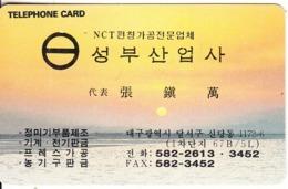 SOUTH KOREA - Sunset(tel:582- 2613 . 3452)(W2000), 04/95, Used - Corée Du Sud