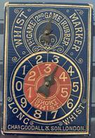 WHIST MARKER GOODALL & SON LONDON 19ème ANCIENT ANTIQUE VINTAGE PLAYING CARDS ANCIEN MARQUEUR JEUX DE CARTES - Other