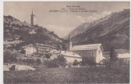 Jausiers  L'église Et Les Deux Clochers - France