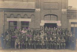 Grande Photo Originale De Mineurs Au Trieu Kaisin Puist à Gilly Vers 1920? - België
