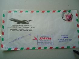 ITALY COVER FIRST FLIGHT 1969 PRIMO VOLO-BOLOGNA-GINEVRA  AEROLINE ITAVIA - Italia