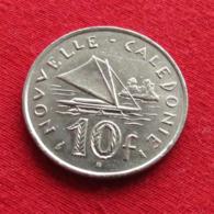 New Caledonia 10 Francs 1973 KM# 11  Nouvelle Caledonie - Nieuw-Caledonië