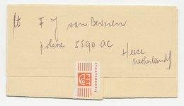 Telegram Ascension - Heeze 1980 - 1891-1948 (Wilhelmine)