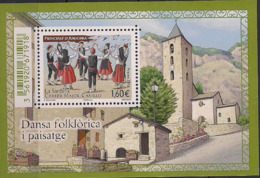 2016 Andora Fr. Mi. Bl 13 **MNH    Sardana-Tanz, Canillo - French Andorra