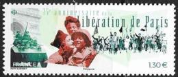 FRANCE, 2019, MNH, WWII, LIBERATION OF PARIS, 1v - WW2
