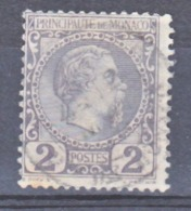 Monaco    2  Prince Charles III Oblitéré Used TB  Cote 35 - Monaco