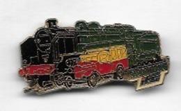 Pin' S  S N C F, Locomotive  RAMBOL / TRAIN  I F C - TGV